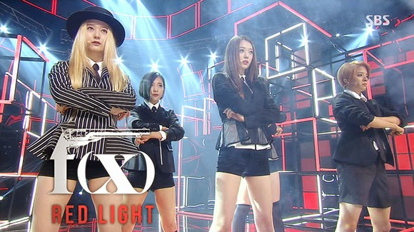 F(x) – Red Light, Compilation Comeback Live | SM World Couple F(x) Luna 2014 Red Light